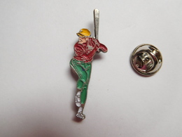 Beau Pin's , Joueur De Baseball - Honkbal