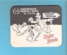 Bierviltje - Sous-bock - Bierdeckel - STELLA ARTOIS - BORNEM - 15E DODENTOCHT - 1984 (B 877) - Beer Mats