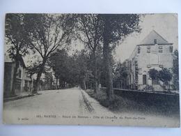 Carte Postale Ancienne De Nantes Route De Rennes Chapelle Du Pont Du Sens - Nantes