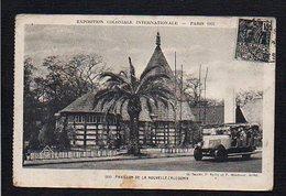 75 Paris / Exposition Coloniale Internationale 1931 / Pavillon De La Nouvelle Calédonie (timbre Et Cachet Correspondant) - Exhibitions