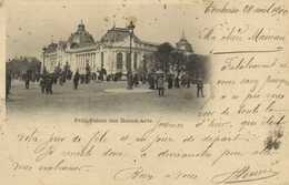 Petit Palais Des Beaux Arts RVBeaux Timbres 5C X2 Cachet P Mercié Representant 2 Quai De La Daurade Toulouse - Arrondissement: 08