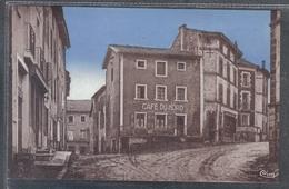 Carte Postale 43. Loudes  Café Du Nord  Place De La Mairie  Très Beau Plan - Loudes