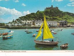 Postcard St Michael's Mount Cornwall  [ John Hinde ] My Ref  B22831 - St Michael's Mount