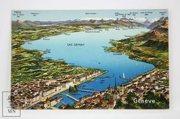 Postcard Switzerland - Geneve - Lac Neman - Phototypie Neuchâtel - 7913 - GE Genève