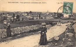 43-VALPRIVAS- VUE GENERALE ORIENTALE - France