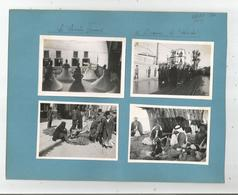 DAMAS (SYRIE) 1940 ( 8 PHOTOS DERVICHES TOURNEURS MARCHE BEDOUINS ENTERREMENT ET MILITAIRES FRANCAIS ) - Places