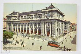 Postcard Switzerland - Geneve / Geneva - Hôtel Des Postes - Jullien Frères - Tram - GE Genève