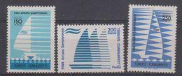 Turkey 1977 European Championship Sailing 3v ** Mnh (40179I) - 1921-... Republiek