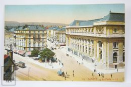 Postcard Switzerland - Geneve / Geneva - La Poste - LL - Animated Crossing - GE Genève