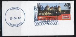 Privatpost; Post Modern; Schloss Moritzburg; Briefausschnitt; B-453 - BRD