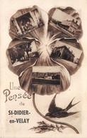 43-SAINT-DIDIER-EN-VELAY- UNE PENSEE - Saint Didier En Velay