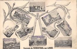 43-MONISTROL-SUR-LOIRE- SOUVENIR MULTIVUES - Monistrol Sur Loire