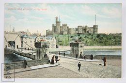 Postcard Scotland - Inverness - Castle & Bridge - Valentines Series - Animated - Inverness-shire