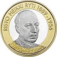 "FINLANDIA  5€ 2.017  2017  BIMETALICA ""Serie Presidentes – Risto Heikki Ryti""  SC/UNC T-DL-12.208 - Finlandía"