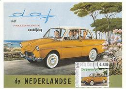 D34732 CARTE MAXIMUM CARD FD 2008 NETHERLANDS - DAF VARIOMATIC - CITY OF EINDHOVEN - CP ORIGINAL - Eindhoven