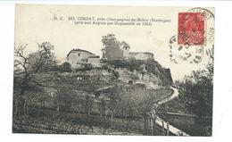 24/ DORDOGNE...CONDAT, Près Champagnac De Belair. ( Pris Aux Anglais Par Duguesclin En 1353) - Autres Communes