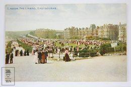 Antique Postcard England - The Lawns, Eastbourne - Sussex - Celesque Series - Photochrom C43004 - Eastbourne