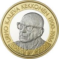 """FINLANDIA  5€ 2.017  2017  BIMETALICA """"Urho Kaleva Kekkonen""""  SC/UNC T-DL-12.209 - Finland"""
