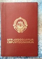 PASSPORT   REISEPASS  PASSAPORTO   YUGOSLAVIA 1966. - Historische Dokumente