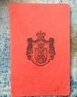 PASSPORT   REISEPASS  PASSAPORTO  KINDOM OF YUGOSLAVIA  1931. - Documenti Storici