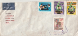 IRAQ  1997  Cover To India  #  12306  D Inde Indien - Iraq