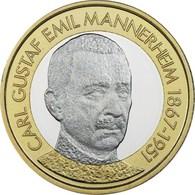 "FINLANDIA  5€ 2.017  2017  BIMETALICA ""Carl Gustaf Emil Mannerheim""  SC/UNC T-DL-12.211 - Finland"