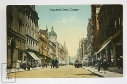 Postcard Scotland - Buchanan Street, Glasgow - Valentines Series - Animated - Lanarkshire / Glasgow