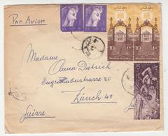 Egypt, Letter Cover Travelled 1958 B180820 - Egypt