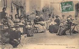 43-LANGEAC- GOUPE DE DENTELLIERES ( MAISON BOITIAS) - Langeac