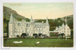 Postcard Scotland - Trossachs Hotel - Main Entrance - Valentines Series - Scotland