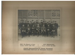 Leuven - Foto Op Karton 1924 - Middengouwfeest - Leuven