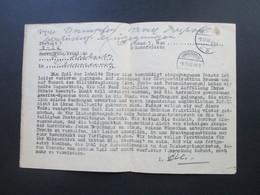 All. Besetzung Dokument 9.12.48 Inhalt Eines Paketes Verloren Gegangen. Liebesgaben / Amerika Spenden. Stempel Bremen - Zone AAS