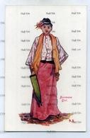 Myanmar Burma Burmese Girl RS Postcard 1910s - Myanmar (Burma)