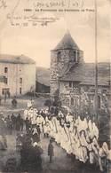 43-LAUSSONNE- LA PROCESSION DES PENITENTS , EN VELAY - France