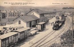 43-CHAMBON-MAZET- LA GARE - Cie C.F.D. - France
