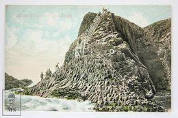 Postcard Scotland - At The Clamshell Cave, Staffa  - Valentines Series - Argyllshire