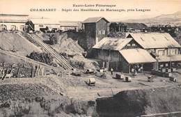 43-CHAMBARET- DEPÔT DES HUILLERES DE MARSANGES, PRES LANGEAC - France