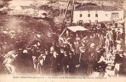 43-CHASTEL- LA FOIRE DU 8 DECEMBRE - LES MARCHANDS ETALAGISTES - France