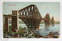 Postcard Scotland - Forth Bridge  - Caledosia Series - JM 129/2 - Midlothian/ Edinburgh
