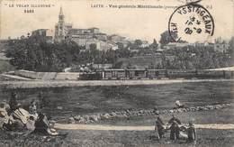 43-LAPTE- VUE GENERALE MERIDIONALE PASSAGE D'UN TRAIN - France