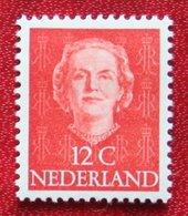 12 Ct Koningin Juliana EN FACE NVPH 522 (Mi 529) 1949 1950 1951 MH / Ongebruikt NEDERLAND / NIEDERLANDE - 1949-1980 (Juliana)