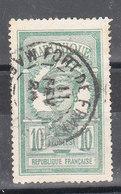 MARTINIQUE YT 93 Oblitéré FORT DE FRANCE 11 FEVR 1924 - Martinique (1886-1947)