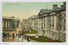 Postcard Ireland - Trinity College, Dublin - Valentine Series - 24808 - Dublin