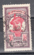 MARTINIQUE YT 94 Oblitéré - Martinique (1886-1947)