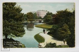 Postcard Ireland - Shelbourne Hotel From St. Stephens Green Park, Dublin - Lawrence - Dublin