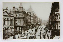 Photographic Postcard Northern Ireland - Royal Avenue, Belfast - W. E. Walton - Animated - Antrim / Belfast