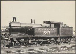 Southern Railway 0-6-4TK No 1597 - J Arthur Dixon Postcard - Trains