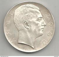 Albania, 1927, 5 Franga, Amet Zogu, Prova Di Vienna, 22,50 Gr. - Albania
