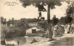 CPA - ANNAY (58) - Aspect De L'abreuvoir Sur Les Bords De La Vrille En 1920 - Sonstige Gemeinden