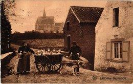 1 Cpa 1910 Hondenkar NELS LATIERE Flamande  Attelage De Chiens, Hund, Dog - Milch Milk Melk - Audergem Oudergem - Chiens